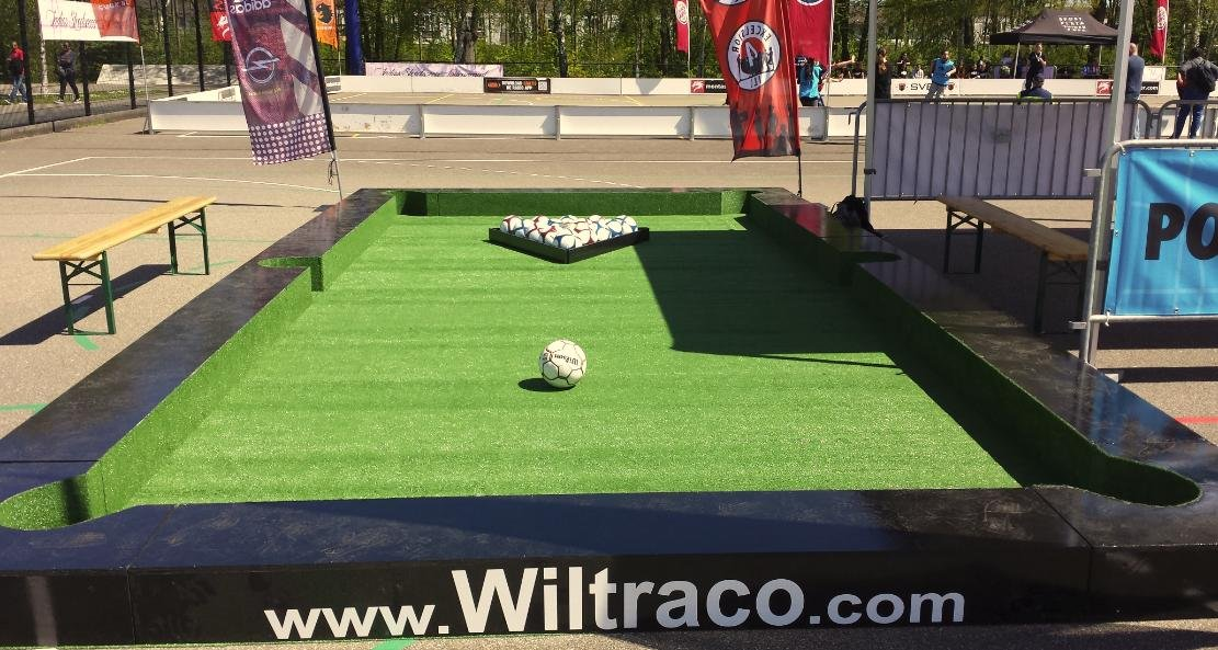 PoolSoccer huren Wiltraco Poolball